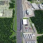 калужское шоссе - схема