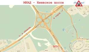 мкад и ленинский проспект